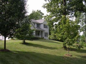 Sam's house on the hill.