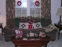 Sam's House Decorated for Christmas