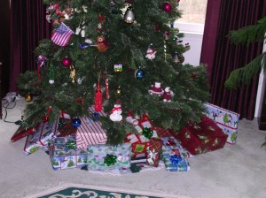 Under Sam's Christmas Tree 2011