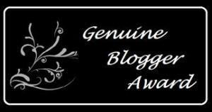Genuine Blogger Award
