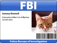 Sammy's FBI Badge