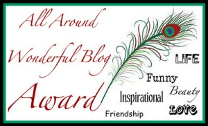 The Wonderful Award for blogging