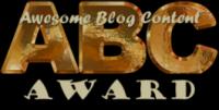 The ABC Blogging Award
