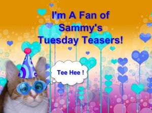 If you'd like to display this badge on your bloggy feel free!  Might as well tell the world you love TUESDAYS!!