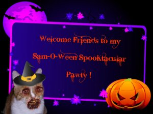 I'll be at the door of the Haunted House to greet you!!