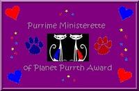 pmaward - planet purrth award