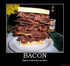 A mile-high bacon sammich!