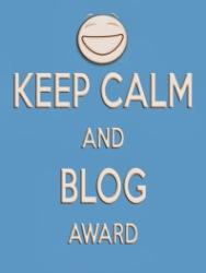 KeepCalmBlogAward