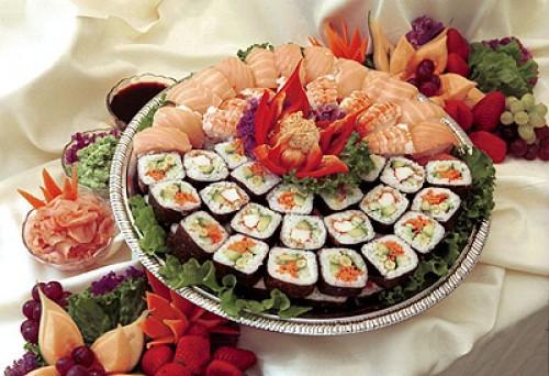 Fresh sushi......