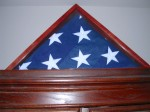 Mom has the flag that was on her Dad's coffin at his full military honors funeral......