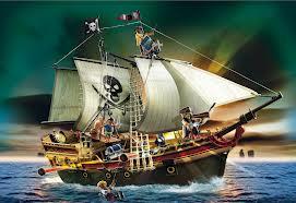 My pirate ship!  Scary huh???
