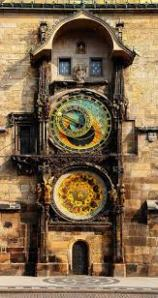 Beautiful astronomical clock