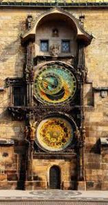 Beautiful astronomical clock