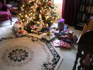 Christmas morning......