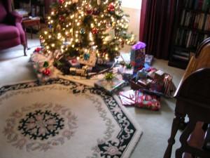 Christmas morning......