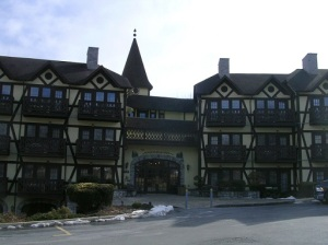 This is the building at the Inn that my Mom and Dad stayed in!