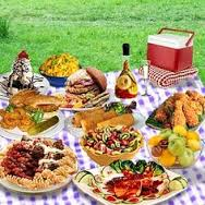 A picnic spread fit for a king or queen!!!