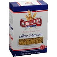 Elbow macaroni, 8 oz. $1.19