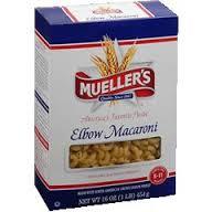 Elbow macaroni, 8 oz. $1.19