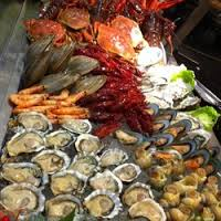 Seafood galore if that's your favorite!