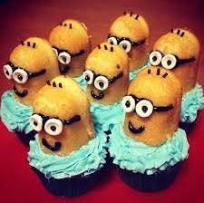 Minion cupcakes.......