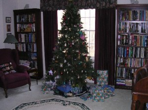 Hey Mom - we need more presents under this tree!