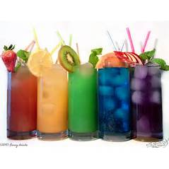 OR fruit juices of ALL flavors!