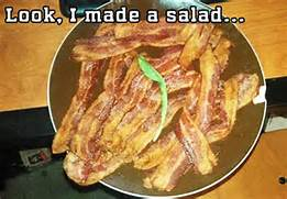 A nice bacon salad?????