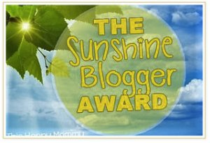 sunshinebloggeraward2016