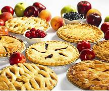All kinds of pies!