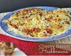 Cheesy Bacon Hashbrowns